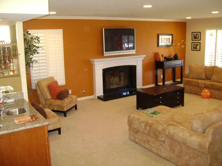 18 best pumpkin gold accent wall images on pinterest on wall paint ideas for living room id=97999