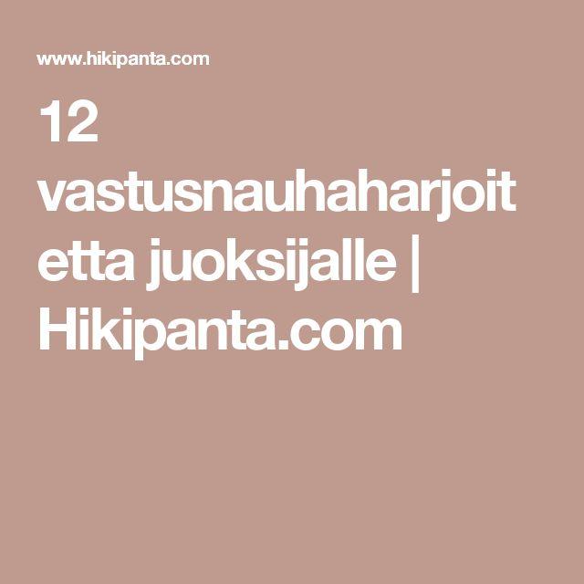 12 vastusnauhaharjoitetta juoksijalle | Hikipanta.com