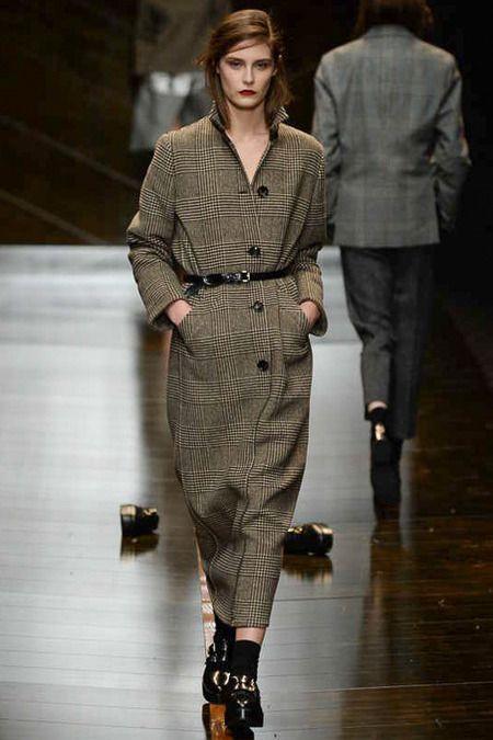 #Trussardi #mfw #fall2014 #aw2014 #fashion #fashionshow #model #runway