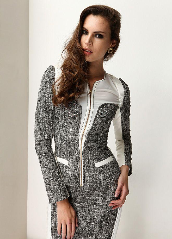 Stil Aşkı: Cesur ve Güzel Ceket Markafoni'de 390,00 TL yerine 149,99 TL! Satın almak için: http://www.markafoni.com/product/5017453/ #markafoni #fashion #instafashion #style #stylish #look #photoshoot #design #designer #bestoftheday #gri #dress #girl #model