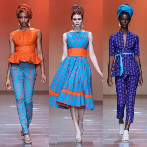 African Fashion . The turqouise range is so stunning