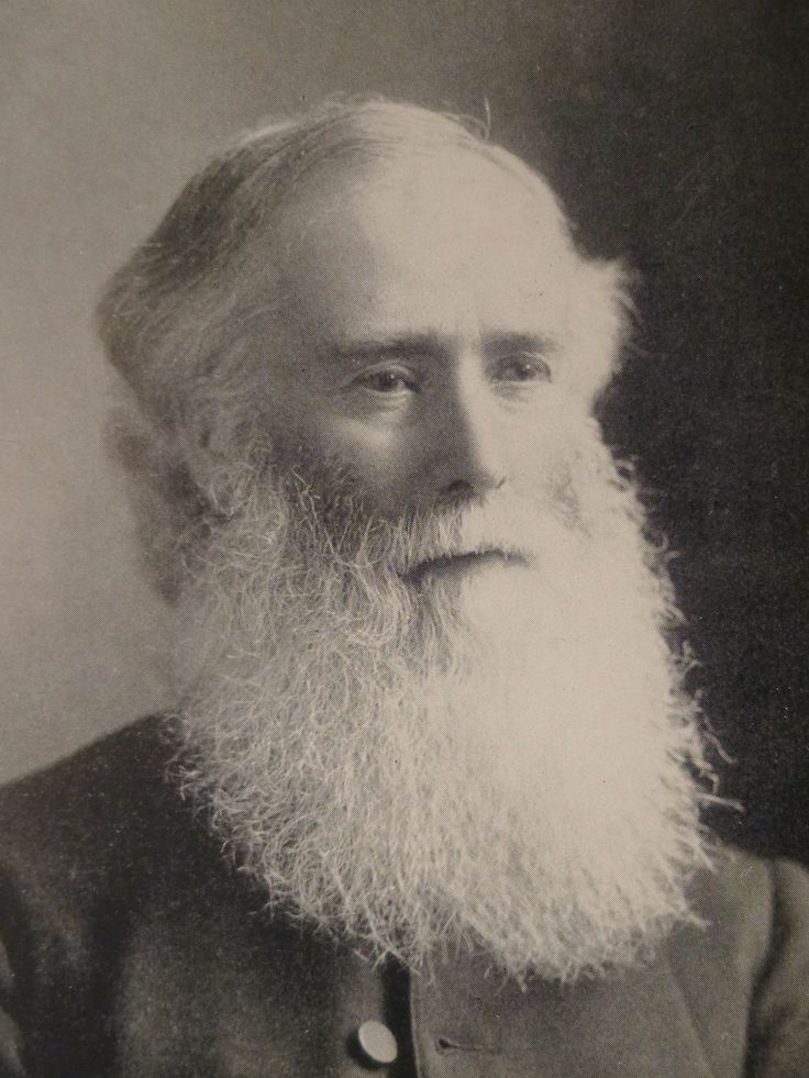 #AdventCalendar Dec. 22 a very special #festive #beardoftheweek Rev. James Mountain with his snowy visage #StNic