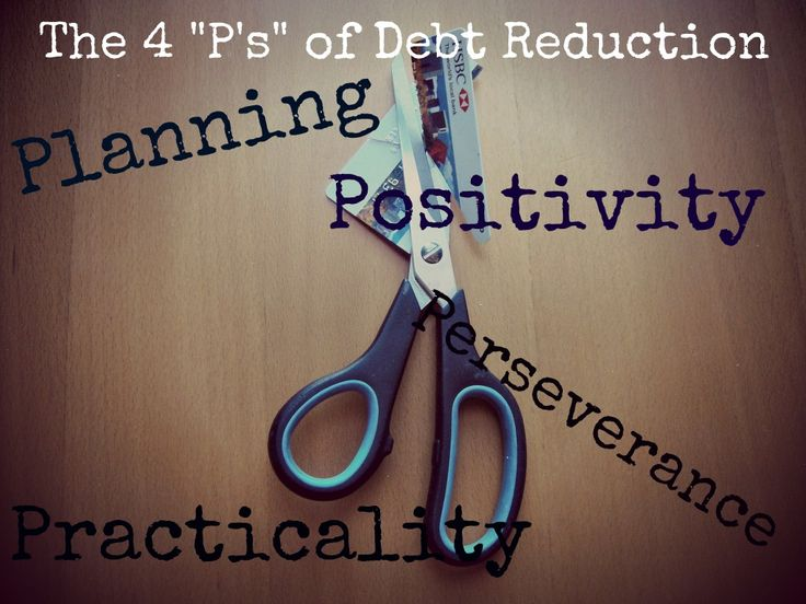 "The Four ""P's"" of Debt Reduction at EnemyofDebt.com"