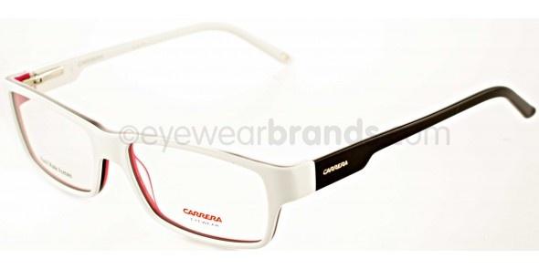 Carrera CA6183 8YP White/Black Carrera Glasses   2012 Carrera Eyewear Frames Online from UK Opticians