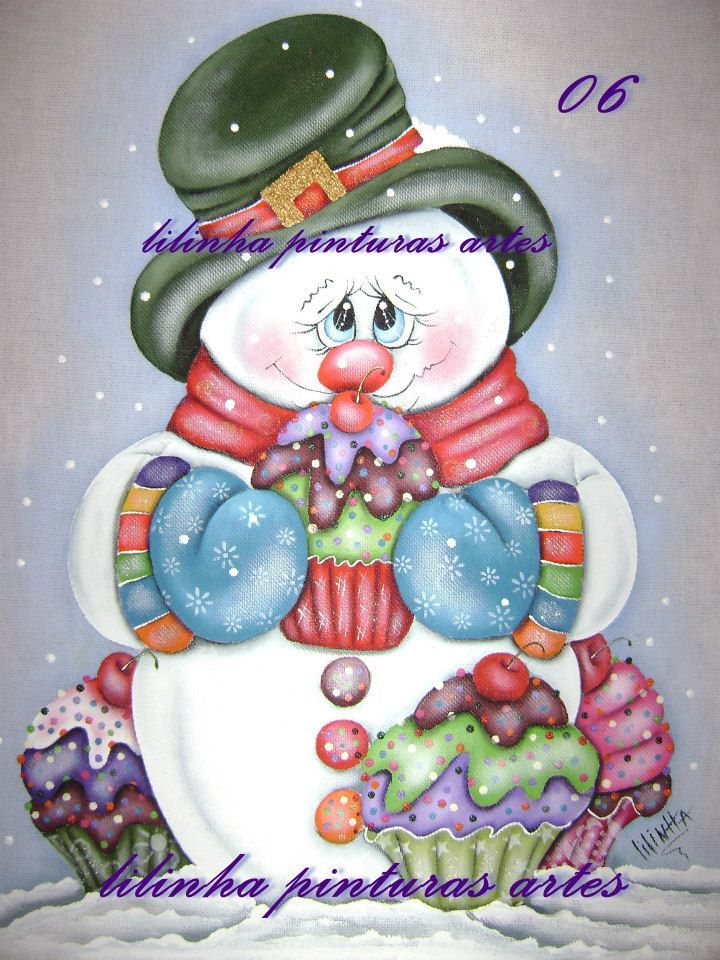 Projeto Natal - Lilinha Pinturas