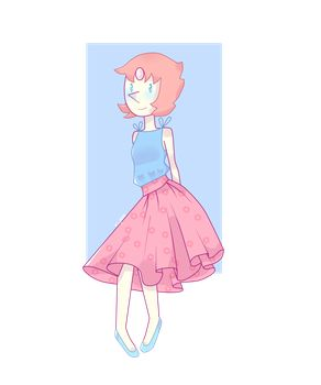 Steven Universe - Floral Pearl by Fay1999