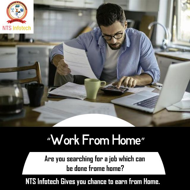 Work From Home. Please visit us- www.ntsinfotechindia.com