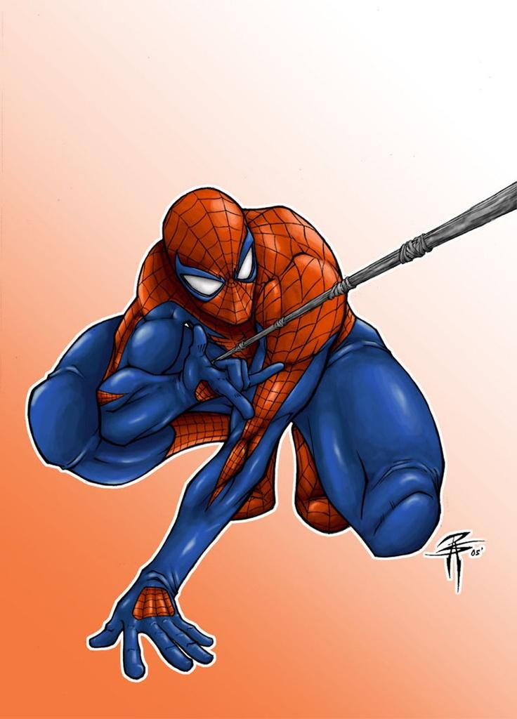 Valt kledij onder kunst? Volgens modegoeroes misschien wel en, om ons eerbetoon aan de 50ste verjaardag van Spider-Man te kunnen plaatsen, volgens Brainfreeze ook. Over de jaren heen heeft Spider-Man, was het nu Peter Parker of zijn kloon, zich heel wat verschillende pakken aangemeten. Wie hem enkel kent in zijn traditonele rood/blauwe kostuum, zal dus aangenaam verrast zijn. Voor wie de modegrillen van de webslingeraar heeft meegemaakt, wordt het een blij weerzien…