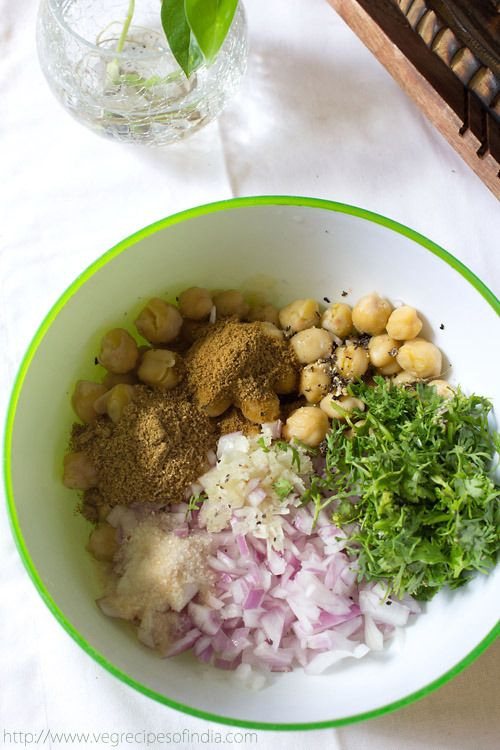how to make falafel arabic style