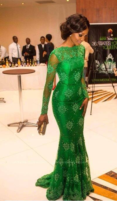 Ankara Long Gown For Ladies | Elegance Blues | Dresses ...