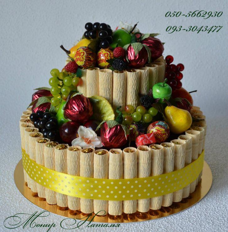 Gallery.ru / Фото #144 - Тортики из конфет - monier