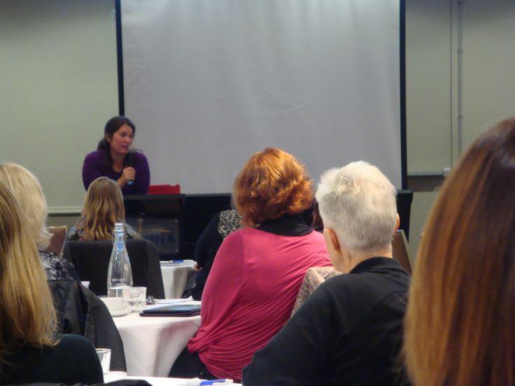 #RWNZ2014 Author and guest speaker Courtney Milan