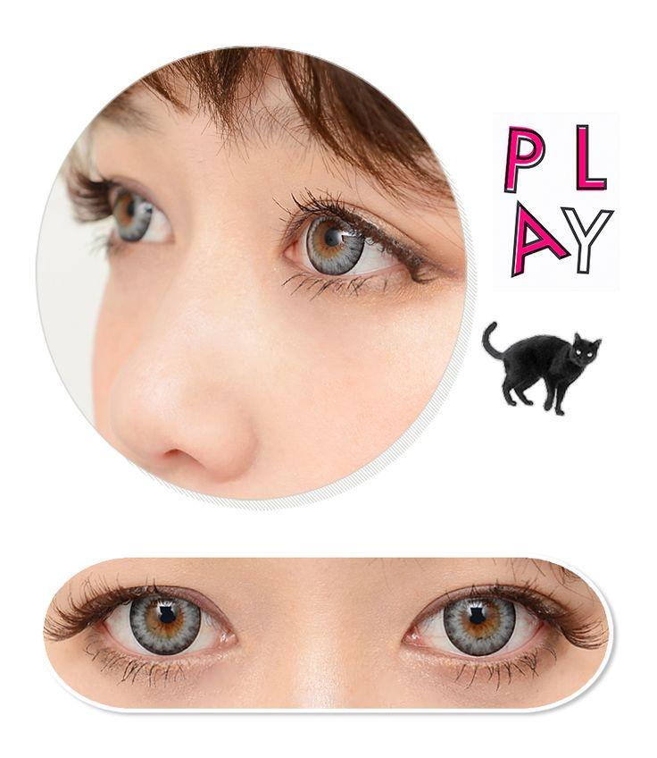 icontact / diamond / gray Toric Contact Lenses / 268