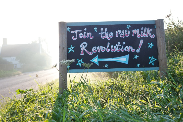 Join the raw milk revolution!