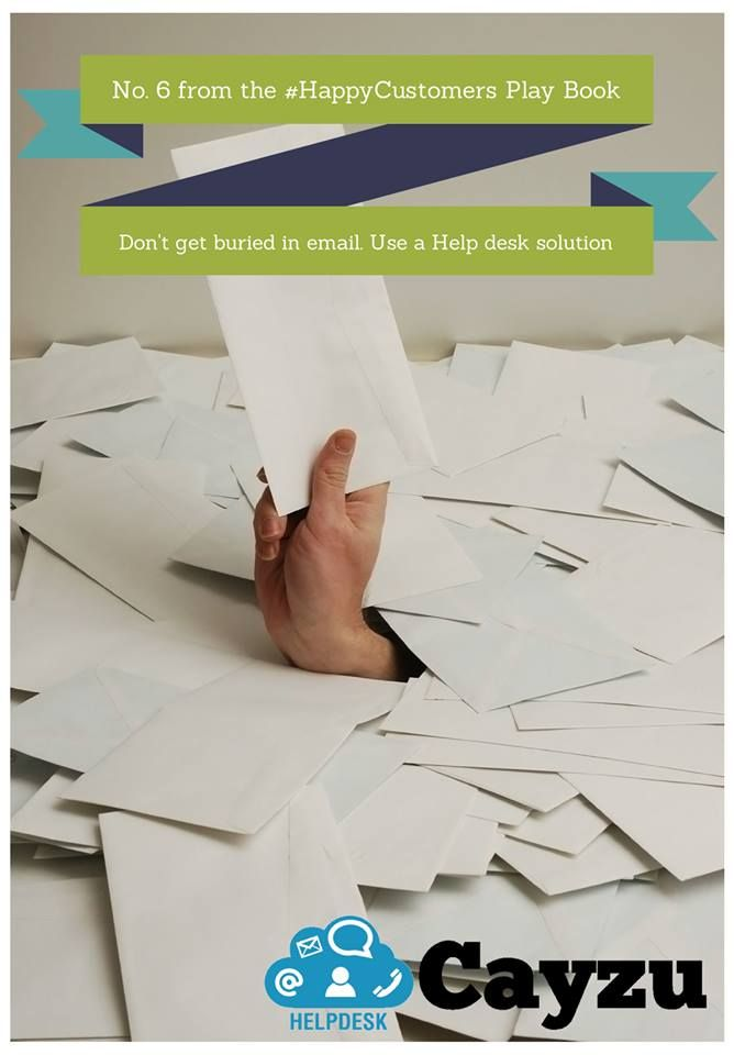 Don't get buried in email. Use a Help desk solution.  http://www.cayzu.com
