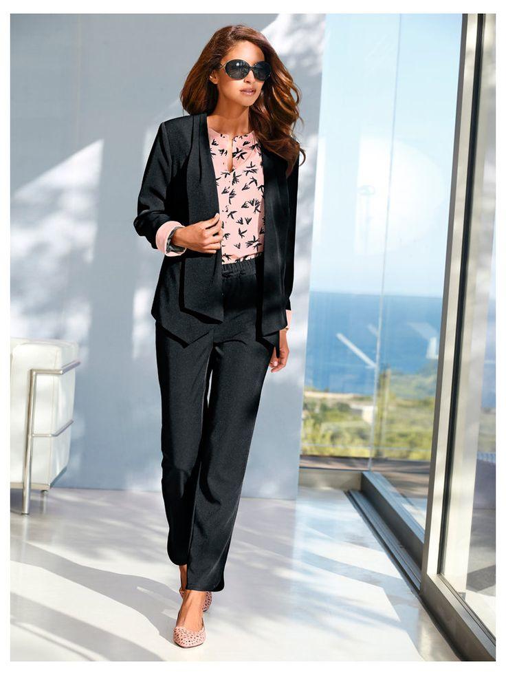 53 best tenues pour femmes d 39 affaire images on pinterest woman outfits blazer and blazers. Black Bedroom Furniture Sets. Home Design Ideas