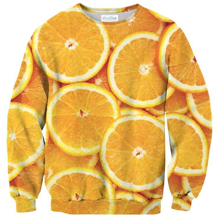 Sweatshirts - Orange Sweater  Oranges make the best post-soccer game snack. Also the best orange slice smile. AND it's got lots of vitamin C! Perfect for kicking an annoying cold out. It's like, the best fruit ever!