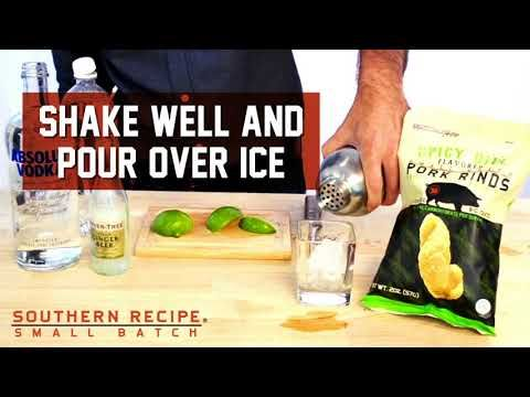 Mix vodka, ginger beer, seltzer and lime and you've the makings of a Queen City Cooler. Enjoy with a bag of our Spicy Dill Pork Rinds and you have the perfect pairing! . . . #Snacks #Protein #TravelSnacks #Recipes #Recipe #PorkRind #PorkRinds #Delicious #foodie #PorkRindAppreciationMonth #GridironGroovin #Touchdown #Contest #Win #Football #SuperBowl #BigGame