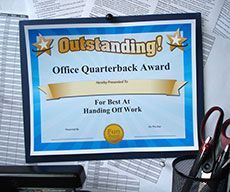 Funny office awards, ideas and printable certificates for ...