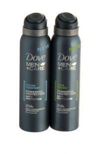 Dove Men Ant- Perspirant Deodorant 150ml Powerful Protection Anti-Irritation 0% Alcohol