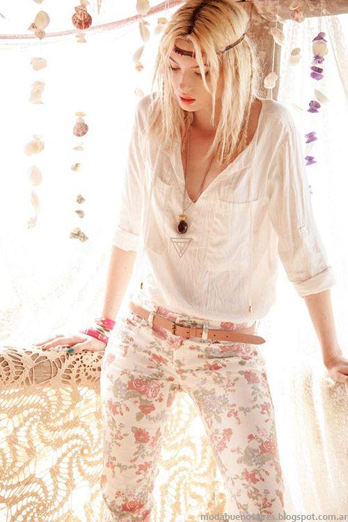 Looks sweet verano 2014 moda casual en ropa de mujer - Moda boho chic ...