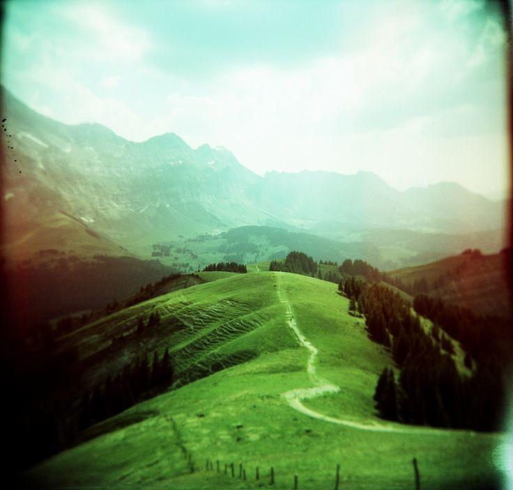 Film Photo by:Stephan Ohlsen   Kronberg, Switzerland, 07/2006Holga 120 GFN, Fuji Astia 100F (expired & cross-processed)
