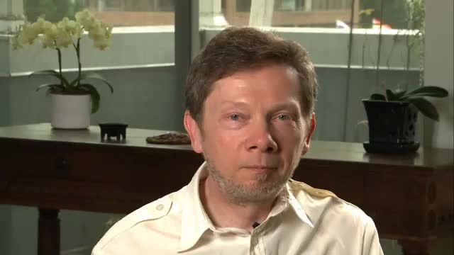 Eckhart explains that the most fundamental spiritual practice is to surrender to whatever form the present moment takes, and then you are one with what is. The false self lives through opposition to the present moment by condemning and judging it.
