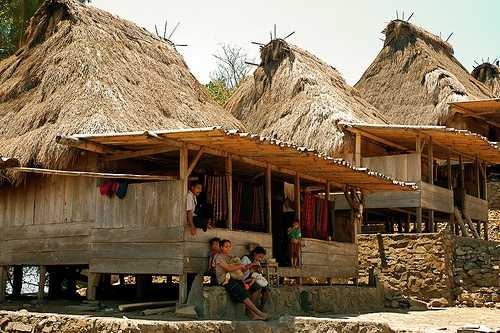 Bena. Bena is one of the most beautiful traditional villages on Flores Island, Indonesia.