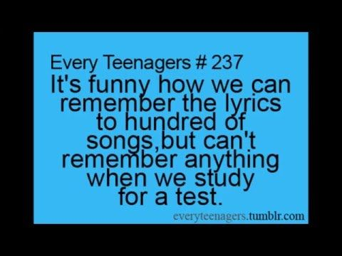 Teenager Posts and Relatable Quotes – YouTube