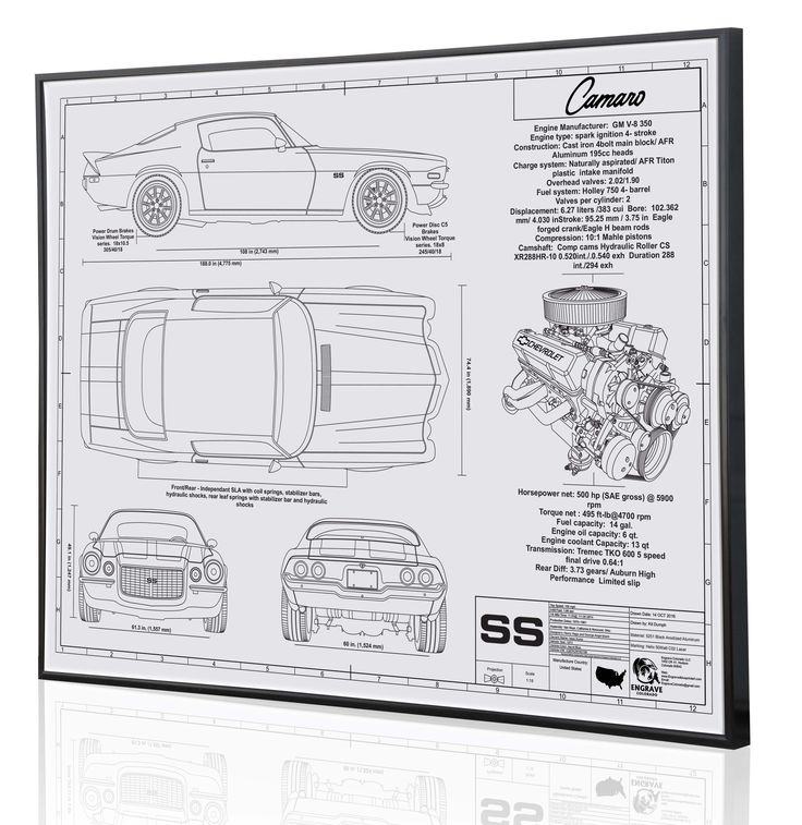 17 best car blueprints images on pinterest 911 turbo chevrolet the second generation camaro shown here is a custom blueprint piece draw from customer photos of malvernweather