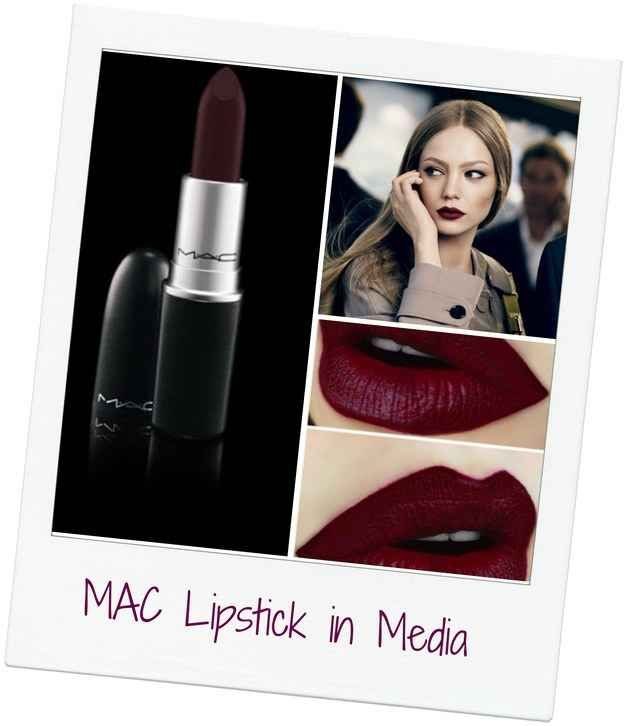 MAC Lipstick in Media Hairstylist and makeup artist! @jessiemarieward follow me on Instagram @Beauty_Babe4u