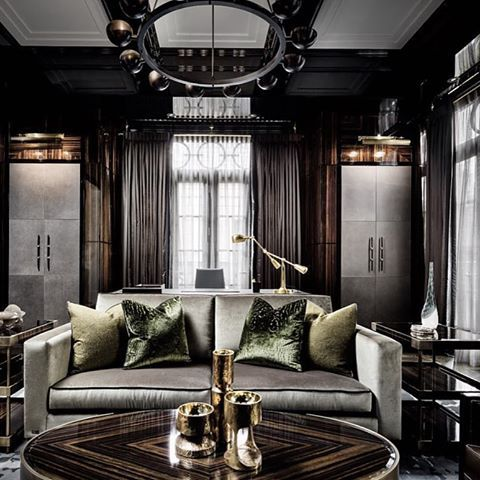 406 best Chic Living Rooms images on Pinterest | Luxury living ...