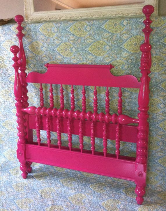 hotpink raspberry four post jenny lind girls twin bed reserved for stephannie