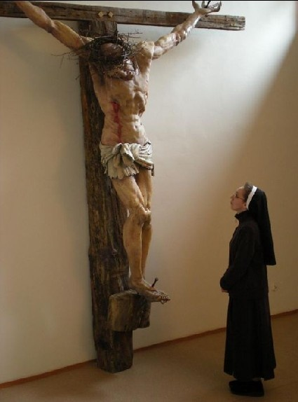 Franciscan Sisters of Penance and Christian Charity. That is a big Jesus..
