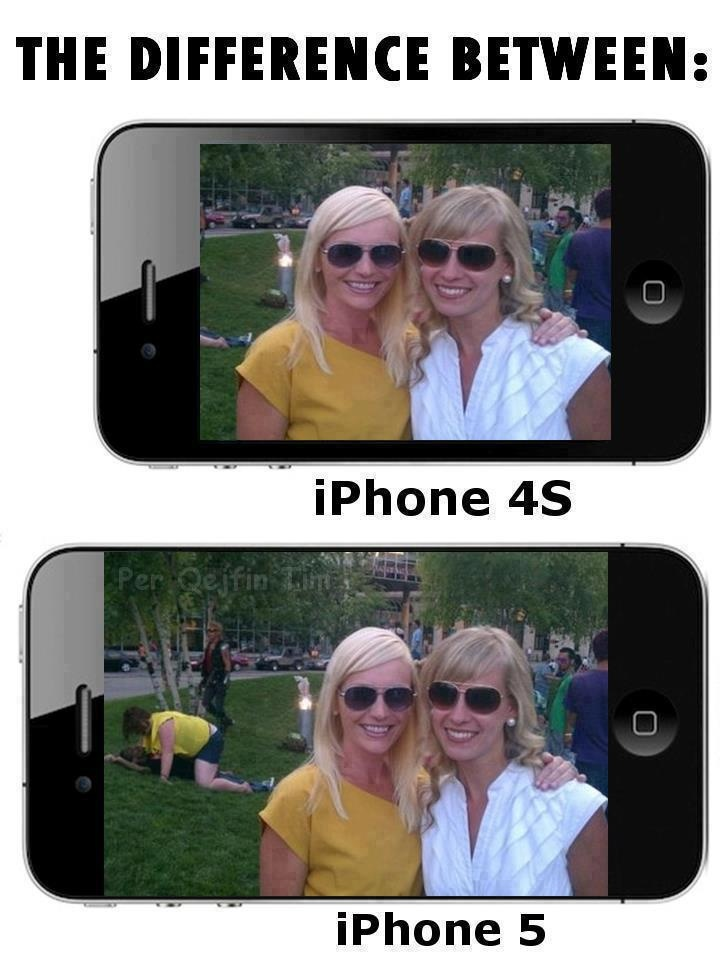 The Difference Between iPhone 4S And iPhone 5