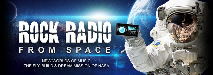 Awesome radio station by NASA! Alt rock and space updates, all for free. And live streams from the app too!  Third Rock Radio | America's Space Station