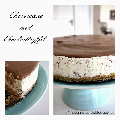 Madame Edith - Recept: Lyxig Cheesecake - Choklad