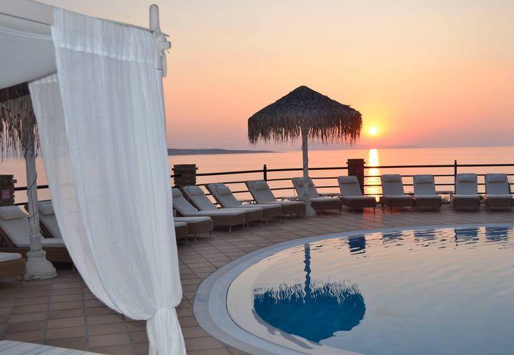 Priceless! #Sunset #DelfinoBlu #Corfu