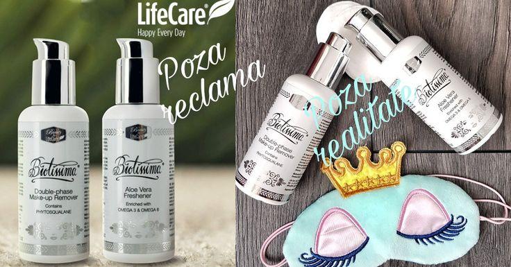 Recenzie demachiant bifazic si lotiune tonica Biotissima Life Care