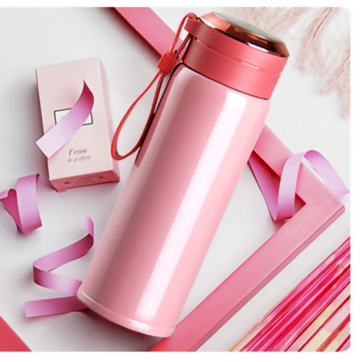Insulated Portable Bpa FREE  3 colors  Vacuum Cup Stainless Steel Thermos Water Bottle Vacuum Flask Travel Mug