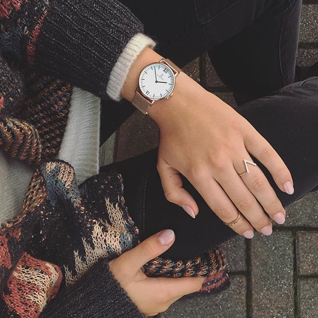 Autumn vibes. https://kapten-son.fr/watches/campina-watches/campina-rose-gold-mesh.html