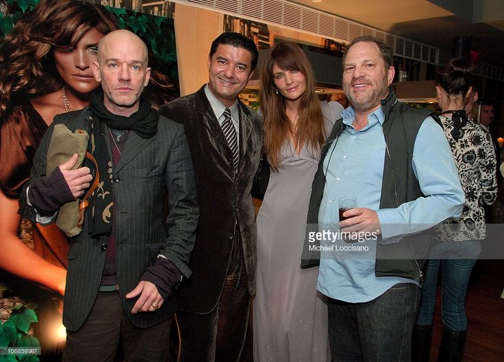 Michael Stipe, Jacob Arabo, Helena Christensen and Harvey Weinstein