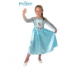 Disfraz de Elsa de Frozen para Niña en varias tallas