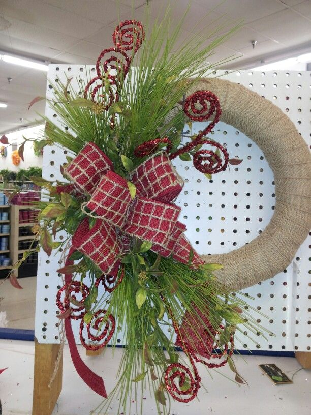 Winter/christmas wreath by kyong