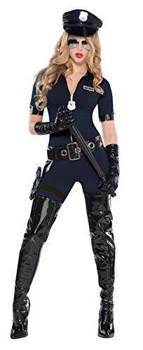 Damen Sexy Polizistin Kostüm ca 39€ | Kostüm-Idee zu Karneval, Halloween & Fasching