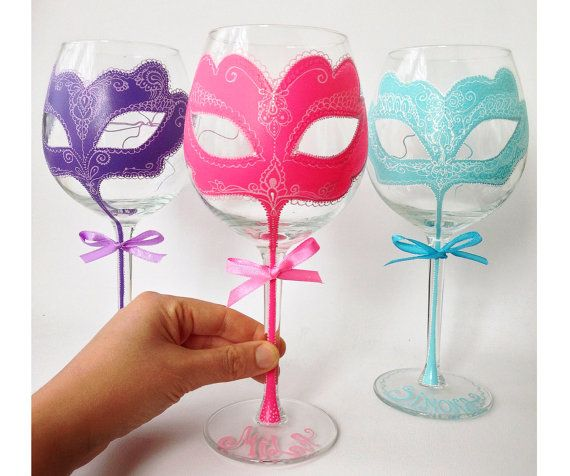 Hand Painted Wine Glass Party wedding birthday pink duck egg tiffany Personalized Hand Painted Wine Glass goblet Flute Christmas candy collection birthday Personalized Hand Painted Wine Glass goblet Flute animal print leopard hen party bachelorette table ideas flute wedding centrepiece favours bride groom theme idea dress gown beach colour scheme vogue Lolita bridal sweet 16th 40th 50th 30th 21st 50th birthday party girly neon bright gift