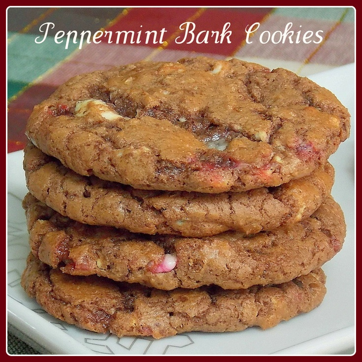 The Life & Loves of Grumpy's Honeybunch: Peppermint Bark Cookies
