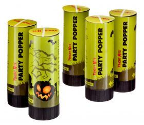 Halloween Party Poppers from Poundland