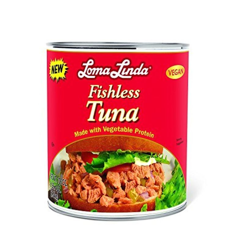 Loma Linda Vegetarian Meat Substitutes, Fishless Tuna, 100 Ounce by Loma Linda -- Awesome products selected by Anna Churchill