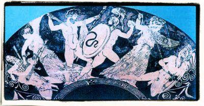 In de Griekse mythologie waren de Giganten (Grieks: Γίγαντες, Gigantes) ontzaglijke reuzen, met vreselijke aangezichten, lange verwarde haren, die van hoofd en kin afhingen, en van geschubde drakenstaarten in plaats van voeten voorzien. Ze tonen enige gelijkenis met de Jötun uit de Noordse mythologie.